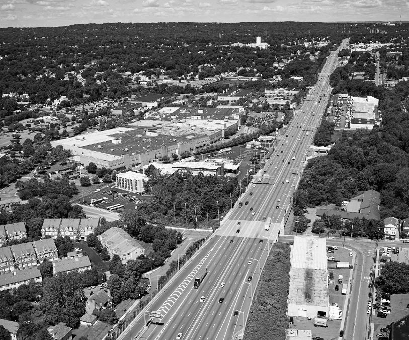 Aerial Photography over Clifton New Jersey