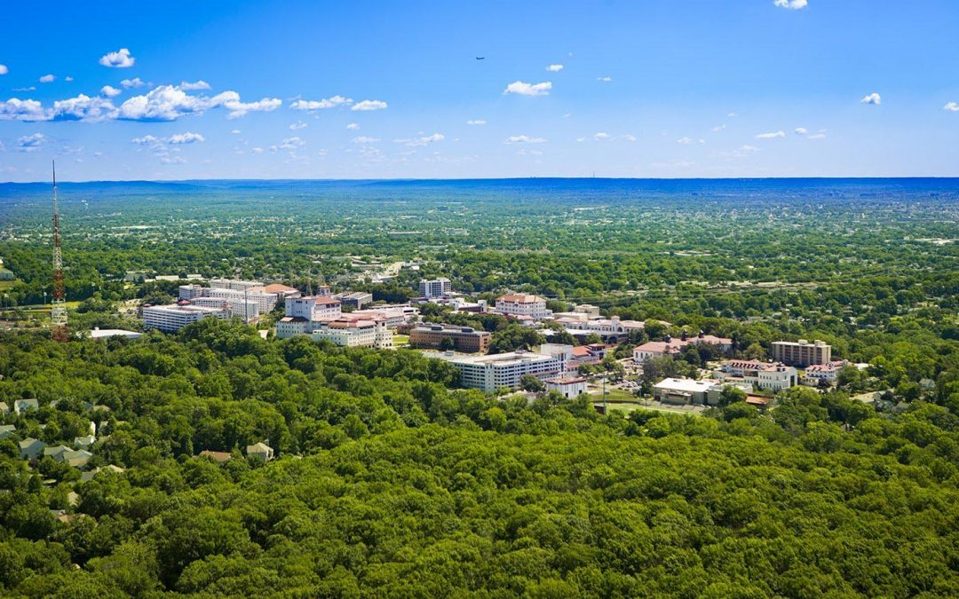 Aerial Photograph of Montclair State University