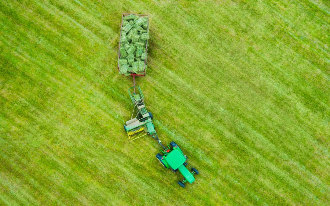 Aerial Drone Photography of New Jersey Farms