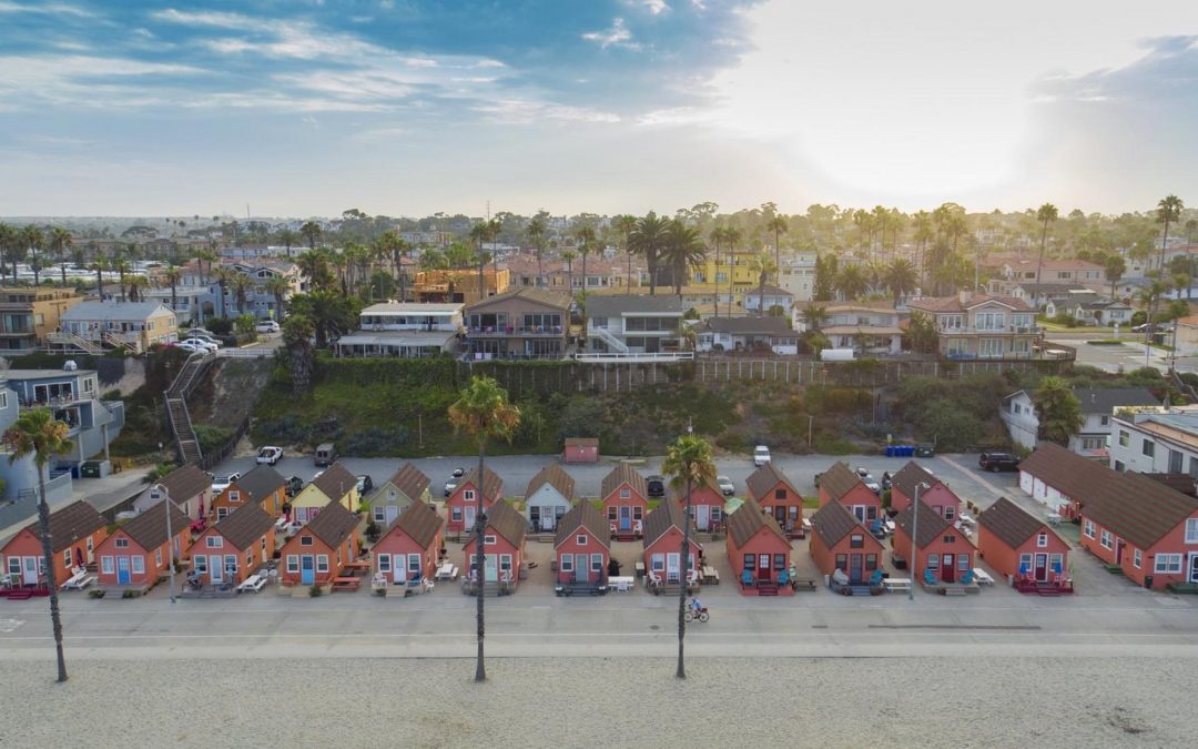 Drone Photography Of California Beach
