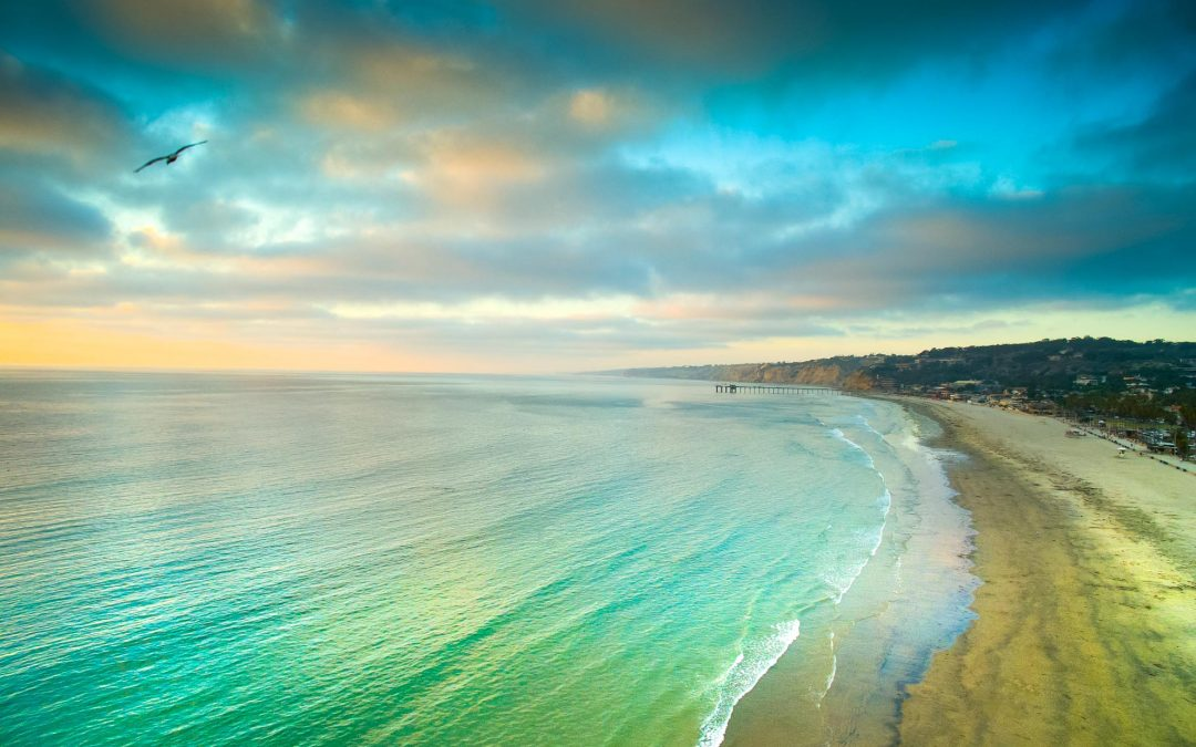 Drone photography in San Diego