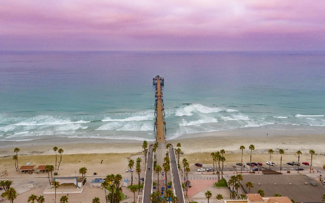 Drone Photography of Oceanside California