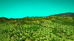Drone Photograph of Utah Hillside