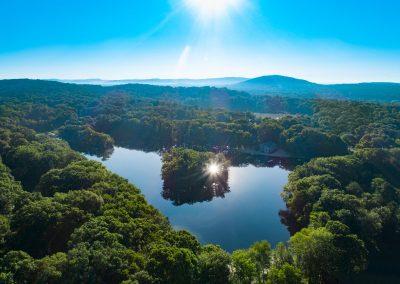 aerojo-drone-productions-drone-projects-new-jersey-lakes-Rock-Ridge-Sun-Burst