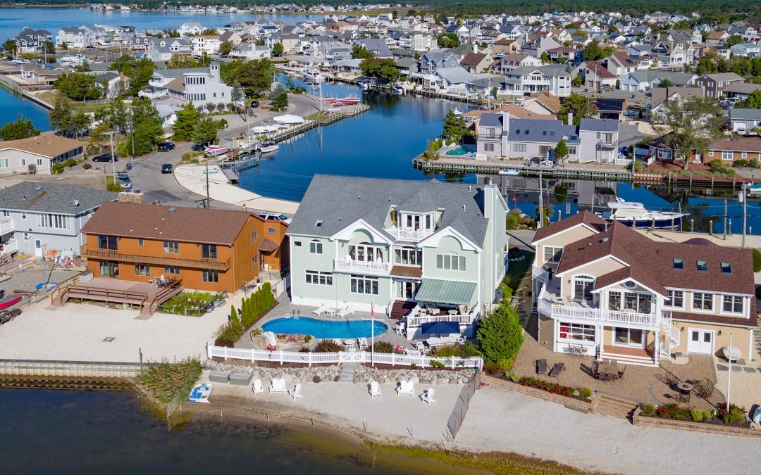 Drone Photography of Luxury Home in Brick New Jersey