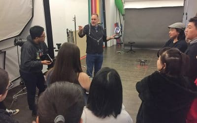Drone Lecture at School of Visual Arts | AEROJO Drone Productions