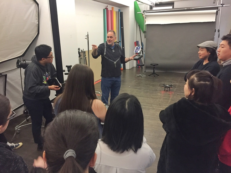 Drone Lecture at School of Visual Arts New York City